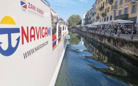 Milan: 1-Hour Navigli Canal Cruise with Audio Guide