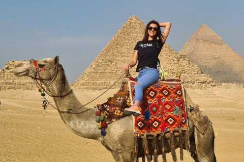 Sharm El-Sheikh: Heldagstur i Kairo og pyramidene med buss