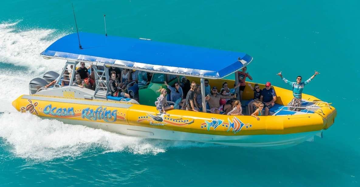 Rafting Oceânico Whitsundays: Snorkel, Caminhada, Whitehaven