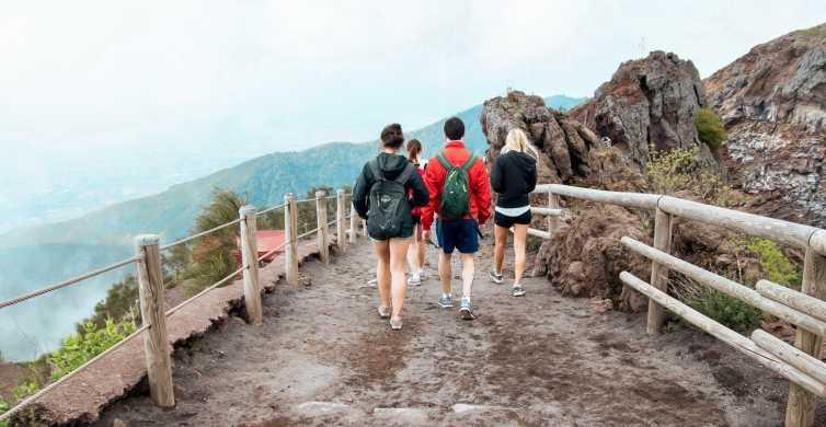 Depuis Naples: journée aux ruines de Pompéi et au Vésuve