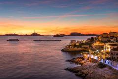 Marselha: cruzeiro ao pôr do sol com jantar