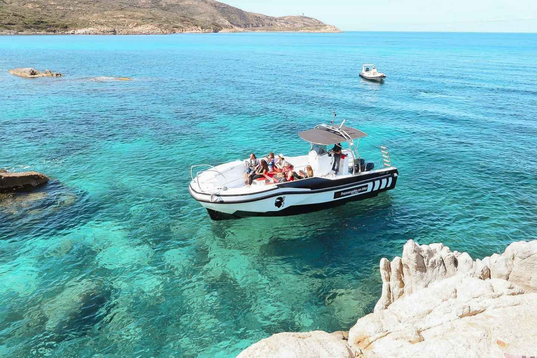 Ab Calvi: Bootstour nach Scandola