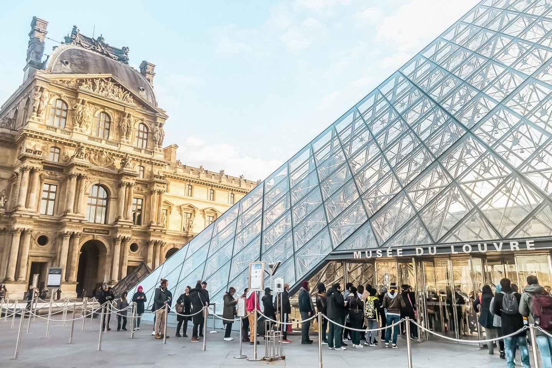 Paris: Louvre-Ticket mit reserviertem Zeitfenster