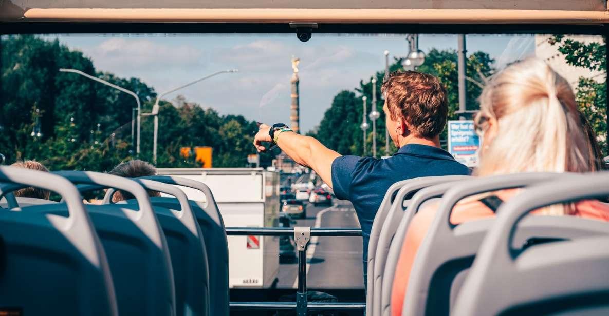 Berlim: Ônibus Turístico Hop-On Hop-Off c/ Cruzeiro Opcional