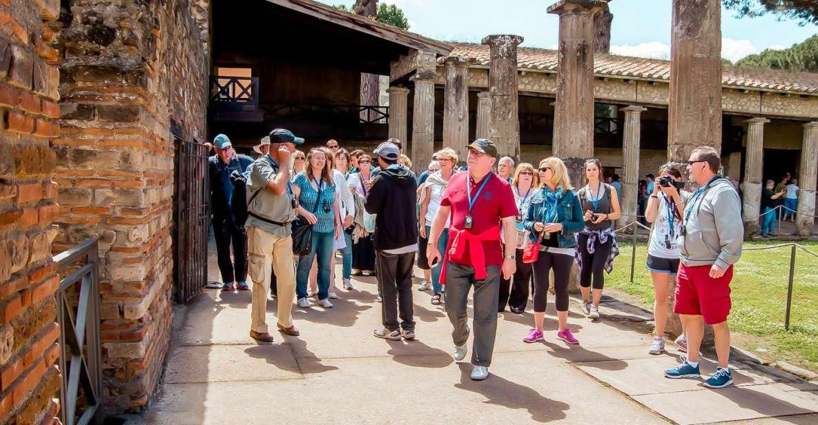 From Naples: Pompeii Ruins & Mount Vesuvius Day Tour