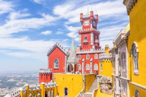 Lisbon: Pena Palace, Sintra, Cabo da Roca, & Cascais Daytrip