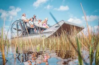 Everglades-Nationalpark: Airboat-Tour und Wildtier-Show