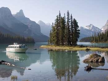 Jasper: Ganztagesausflug zum Jasper-Nationalpark mit Seekreuzfahrt