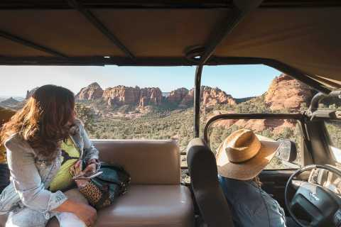 From Sedona: 1.5-Hour Oak Creek Canyon Jeep Pavement Tour