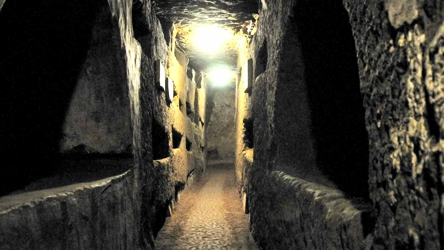Catacombs of St. Domitilla