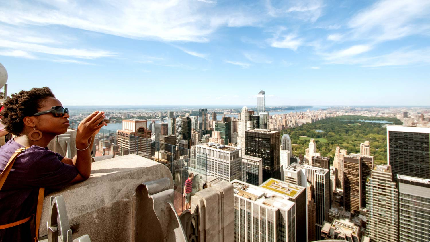 Une des attractions les plus vivantes de Manhattan