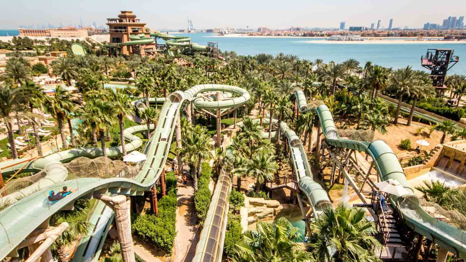 Image result for Aquaventure Water Park dubai