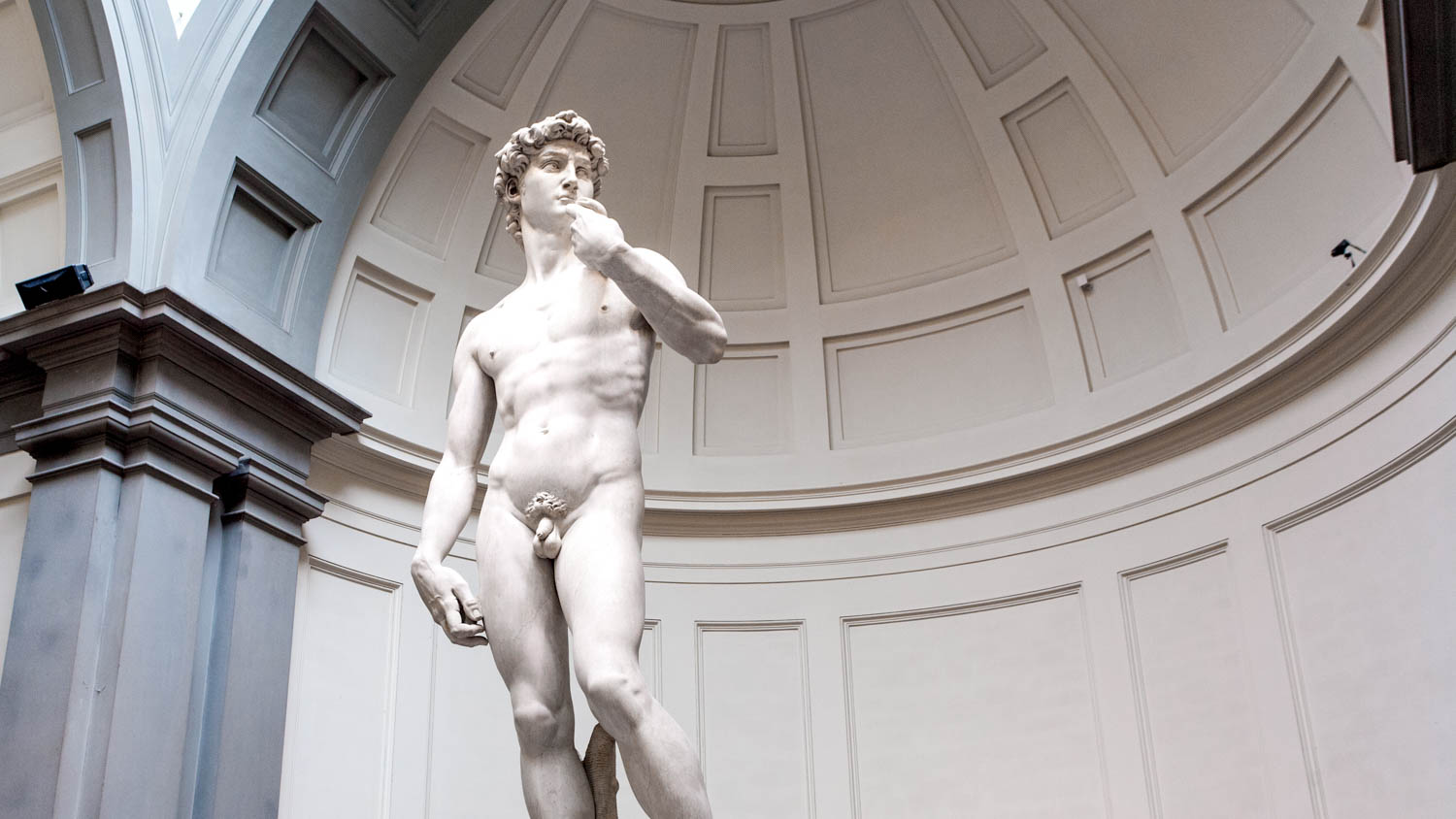 Michelangelo was the third sculptor to work on him