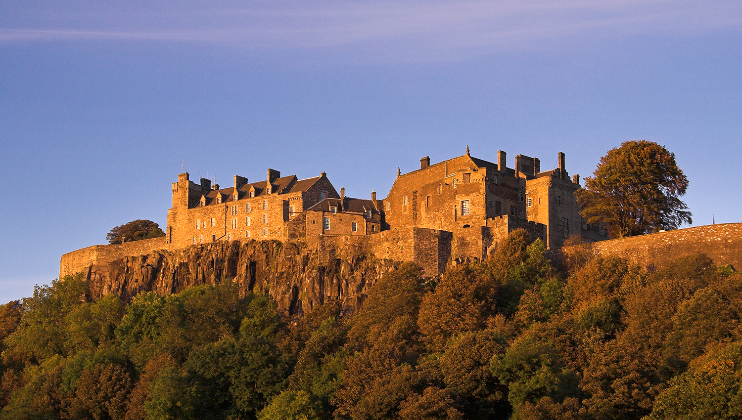 How old is Stirling Castle?