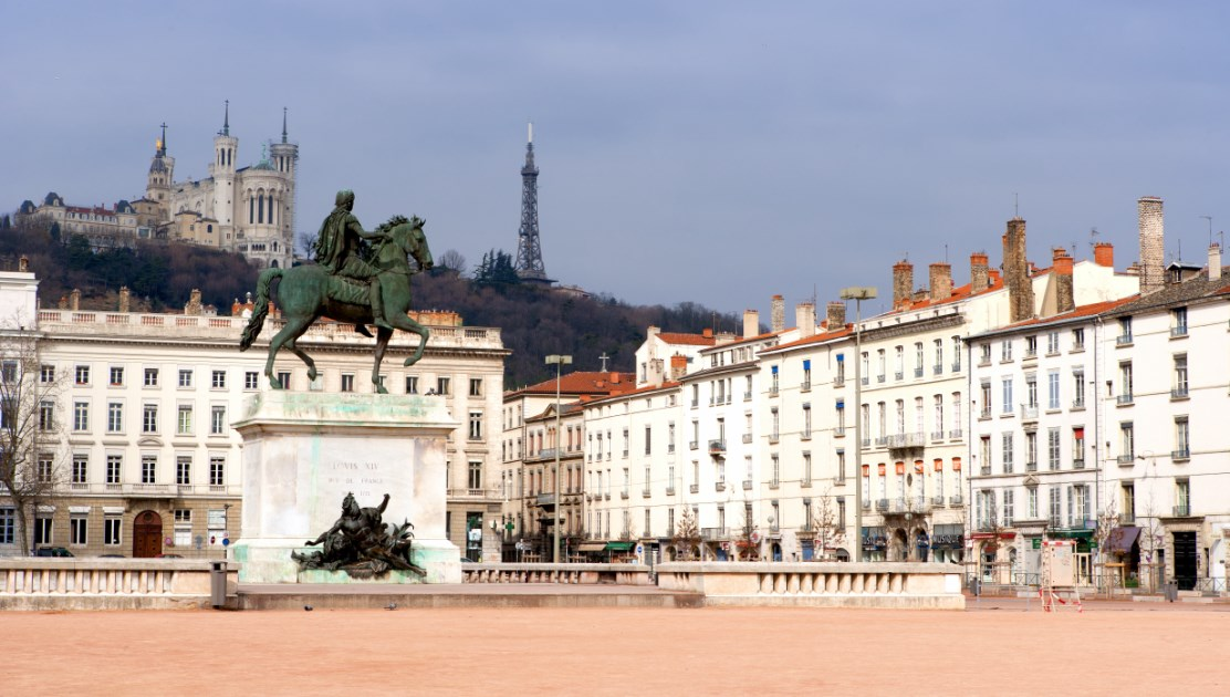La plaza de Bellecour