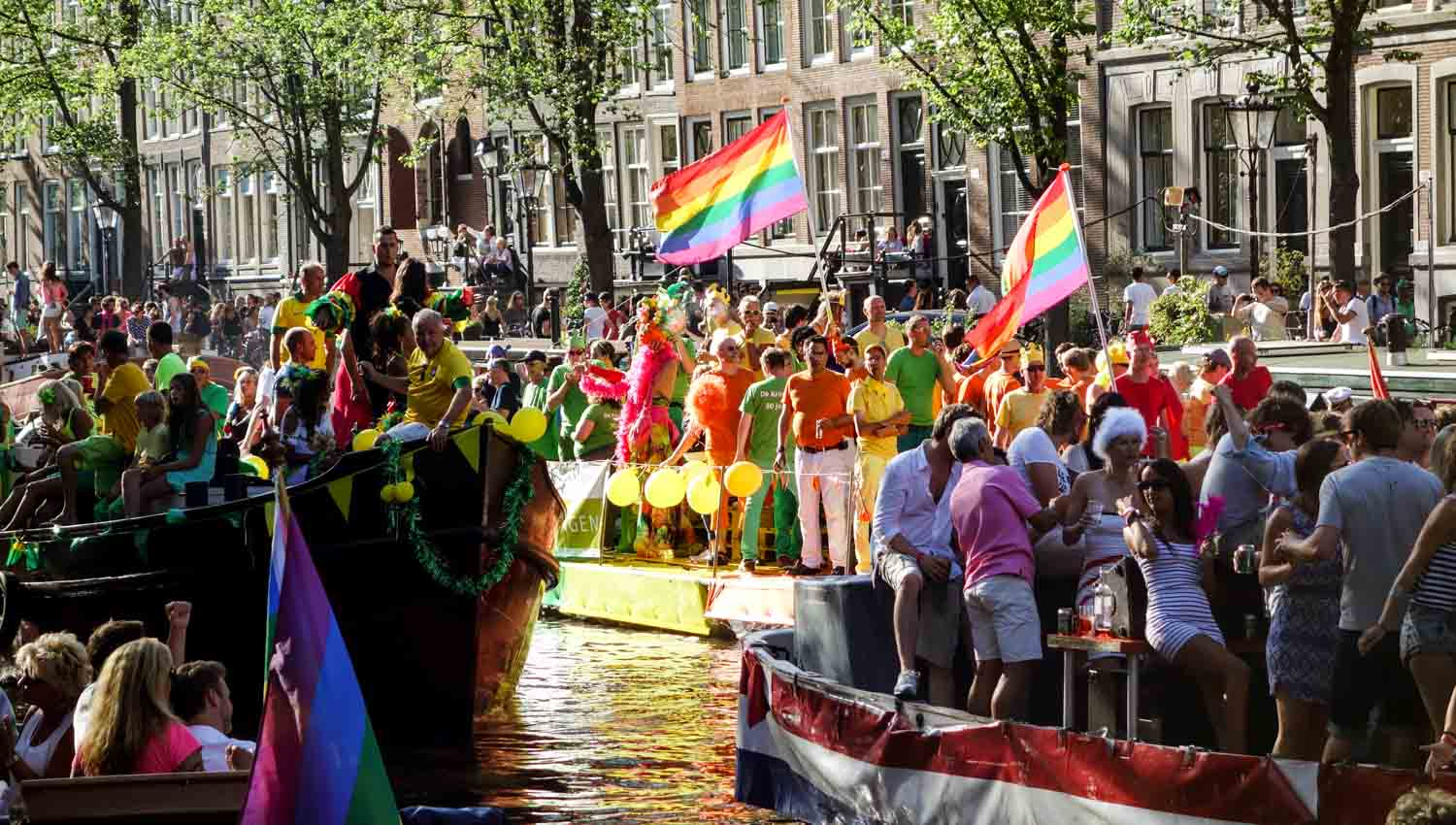The Amstel hosts some of the city's top events