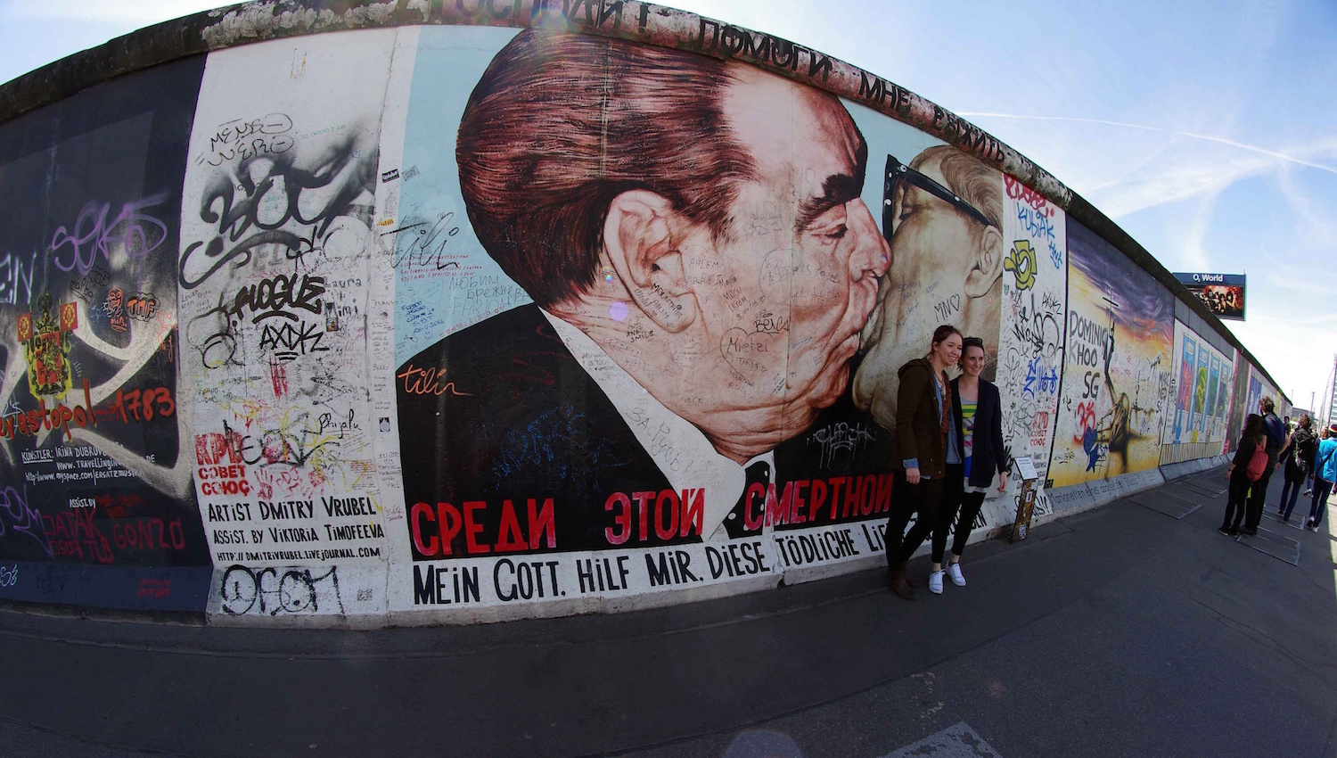 La controverse sur la restauration de l'East Side Gallery