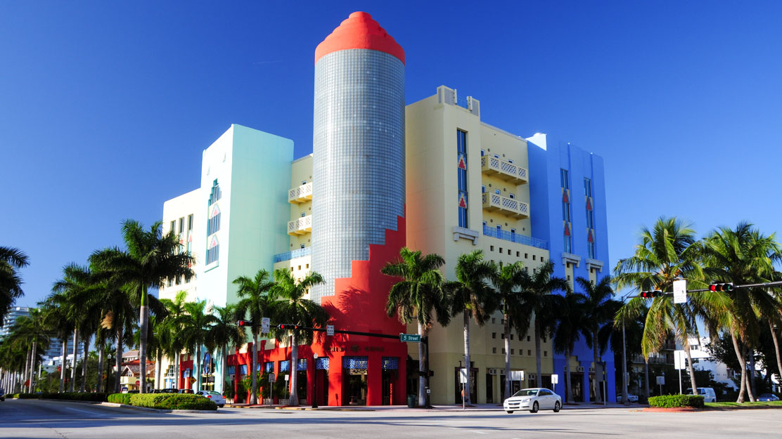 Le quartier architectural de Miami Beach