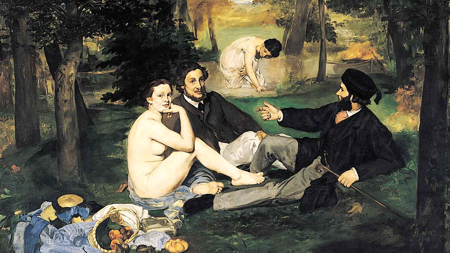 The Luncheon on the Grass (1863)