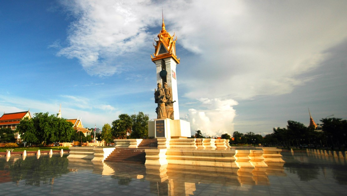 Cambodia Vietnam Friendship Monument