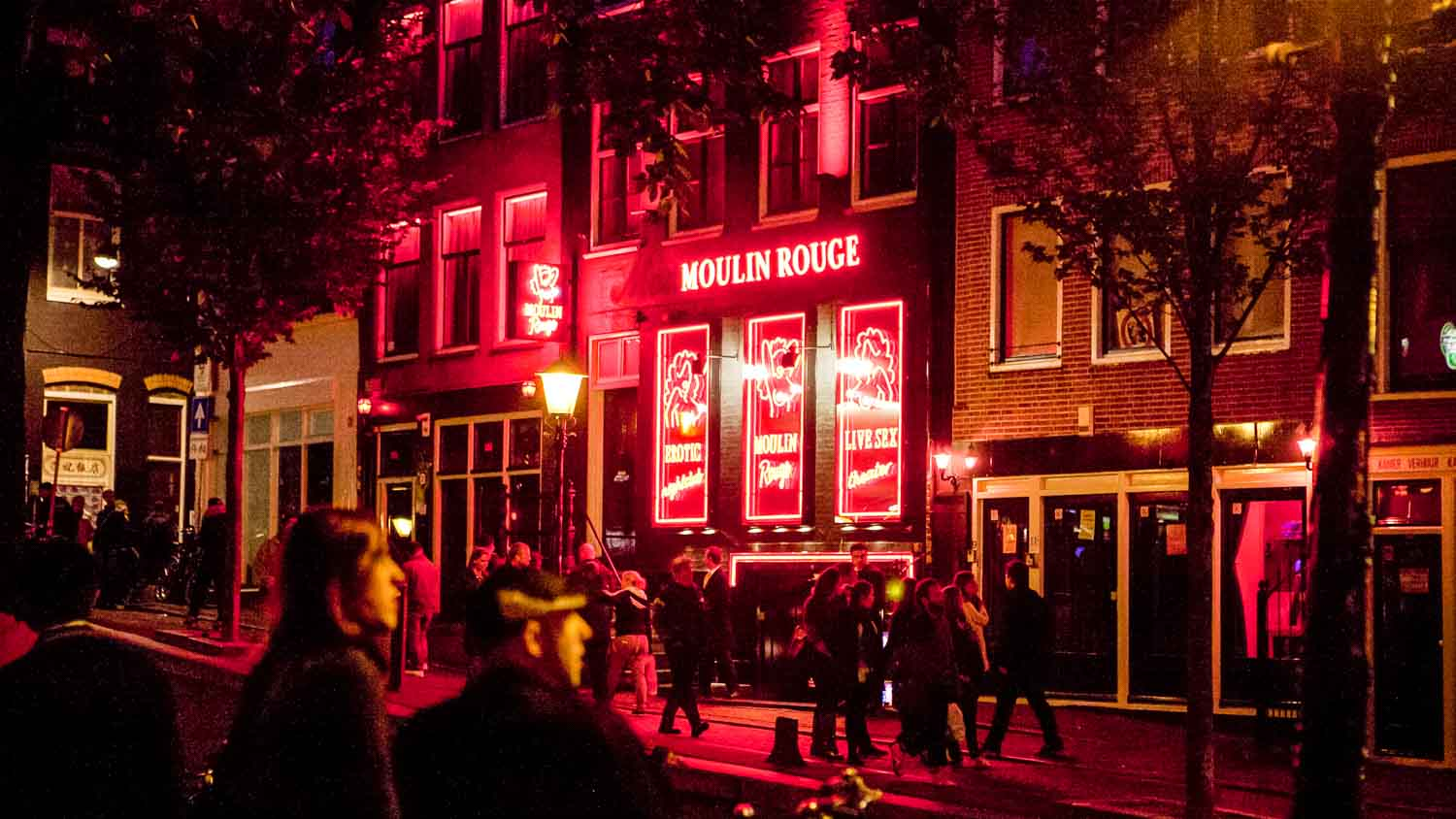 images of amsterdam red light district