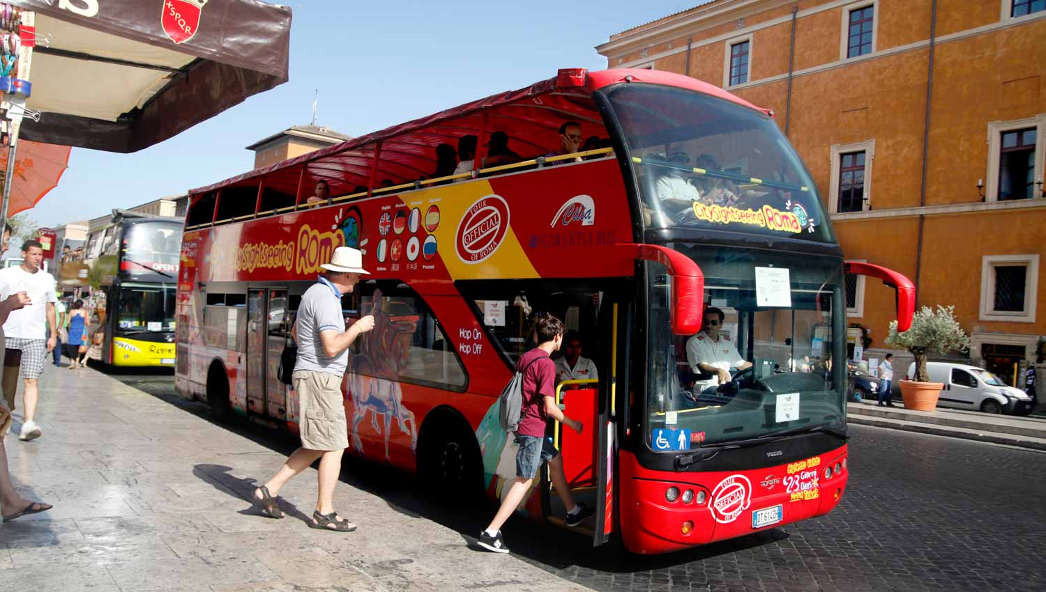 Guided Tour Bus Rome