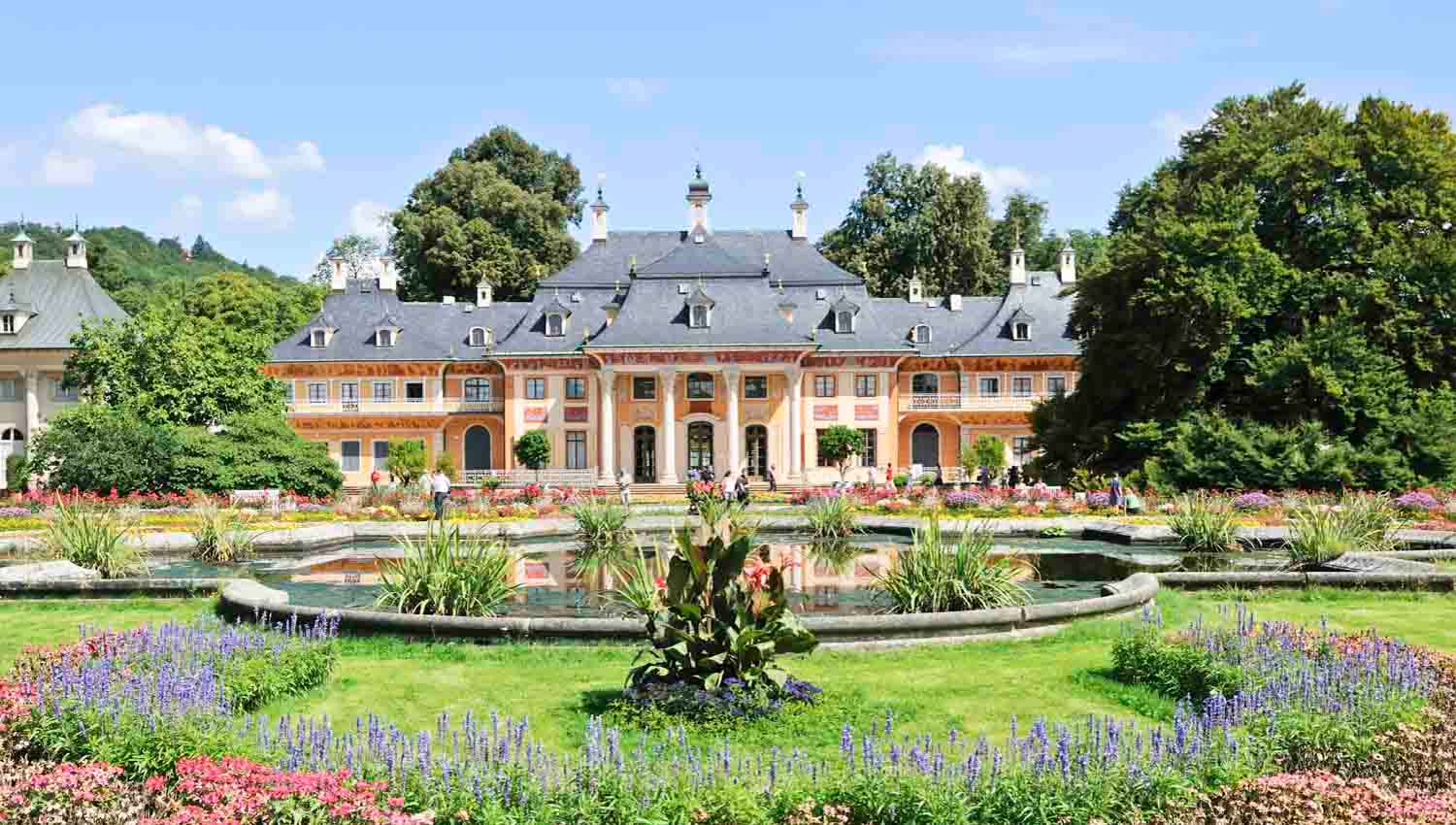 Castillo de Pillnitz