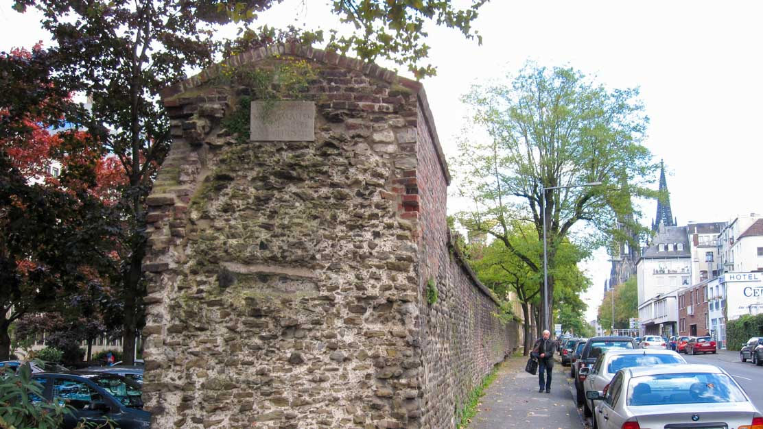 Roman Tower and Walls