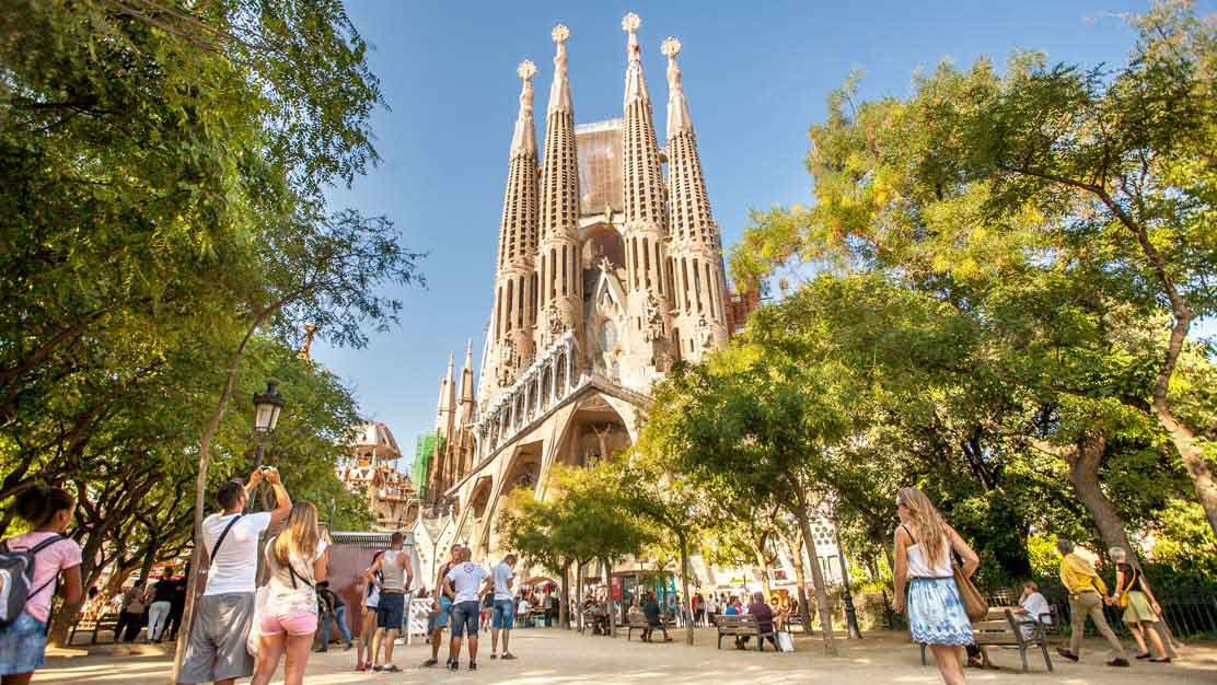 Sagrada familia for Visitare barcellona