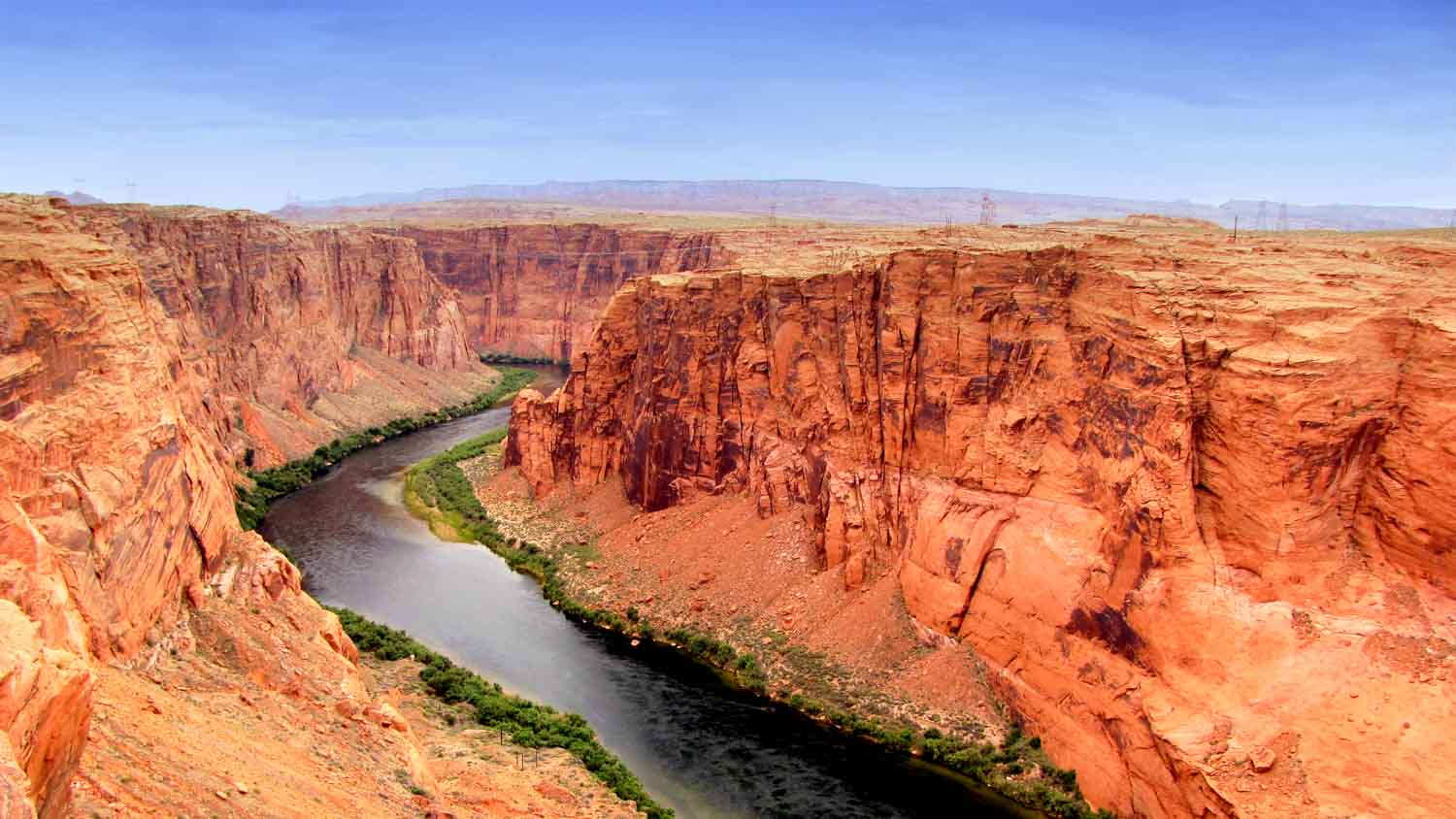 The emergence of the Little Colorado River