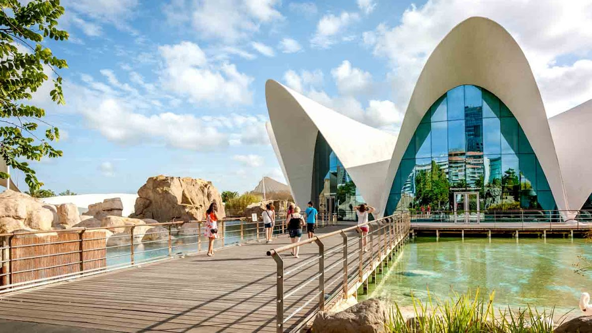 City of arts and sciences valencia book tickets tours for Oceanografic valencia