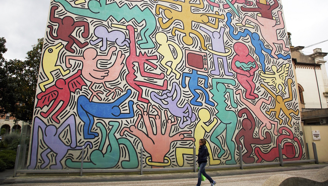 Keith Harings vægmalerier