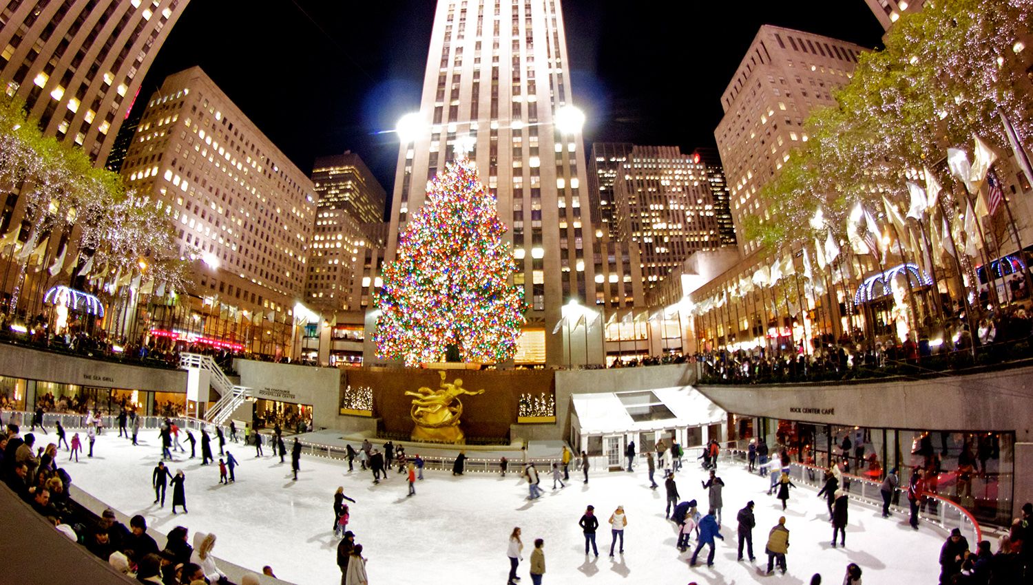 how to go to rockefeller center