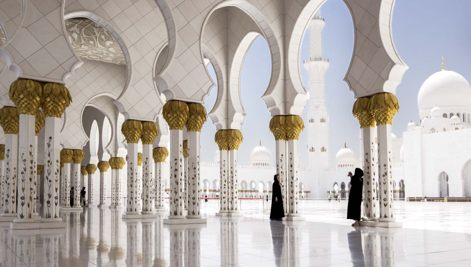 It was built to symbolize Islamic diversity