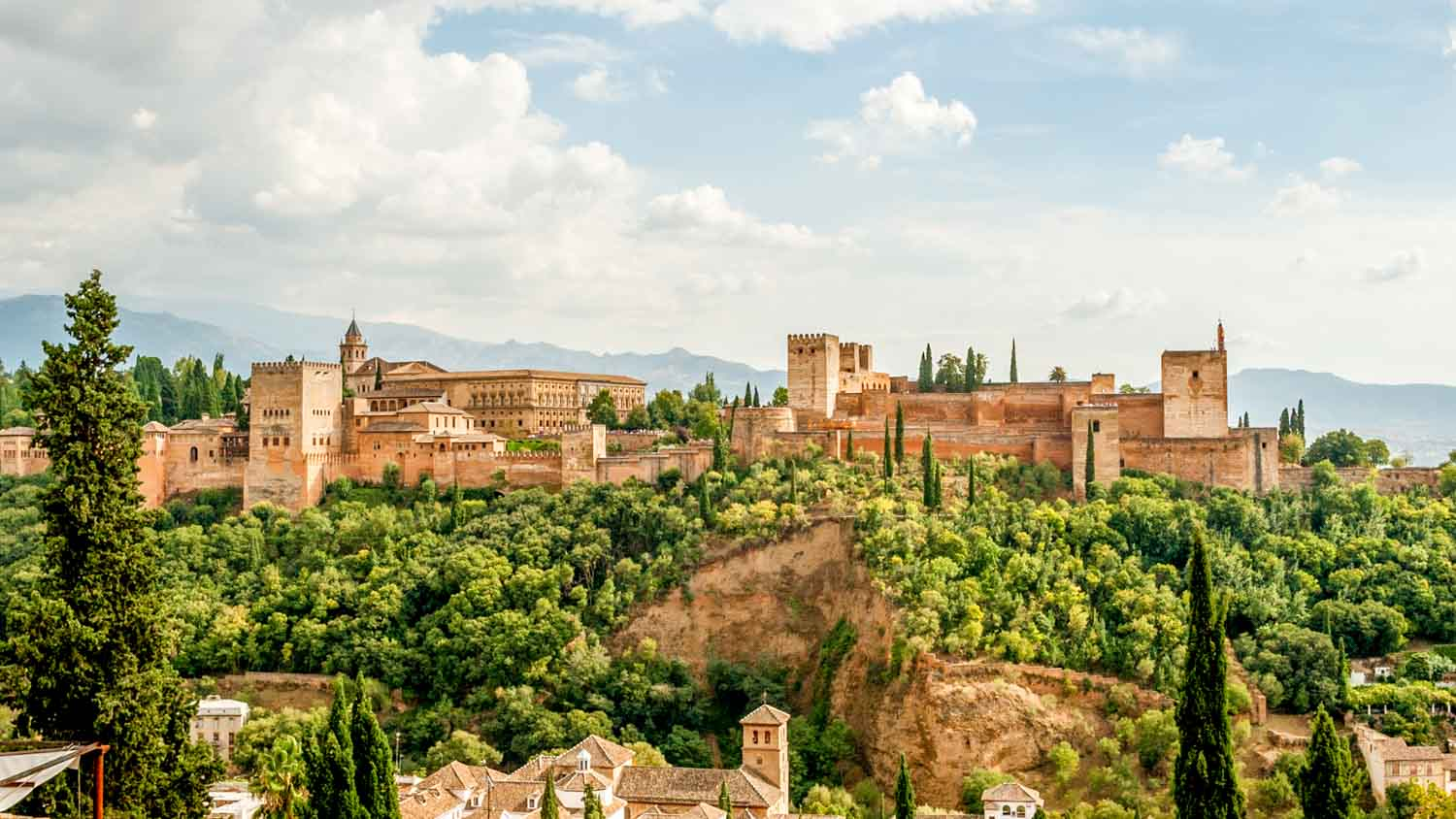 Guided Tours of the Palace of Alhambra in Granada