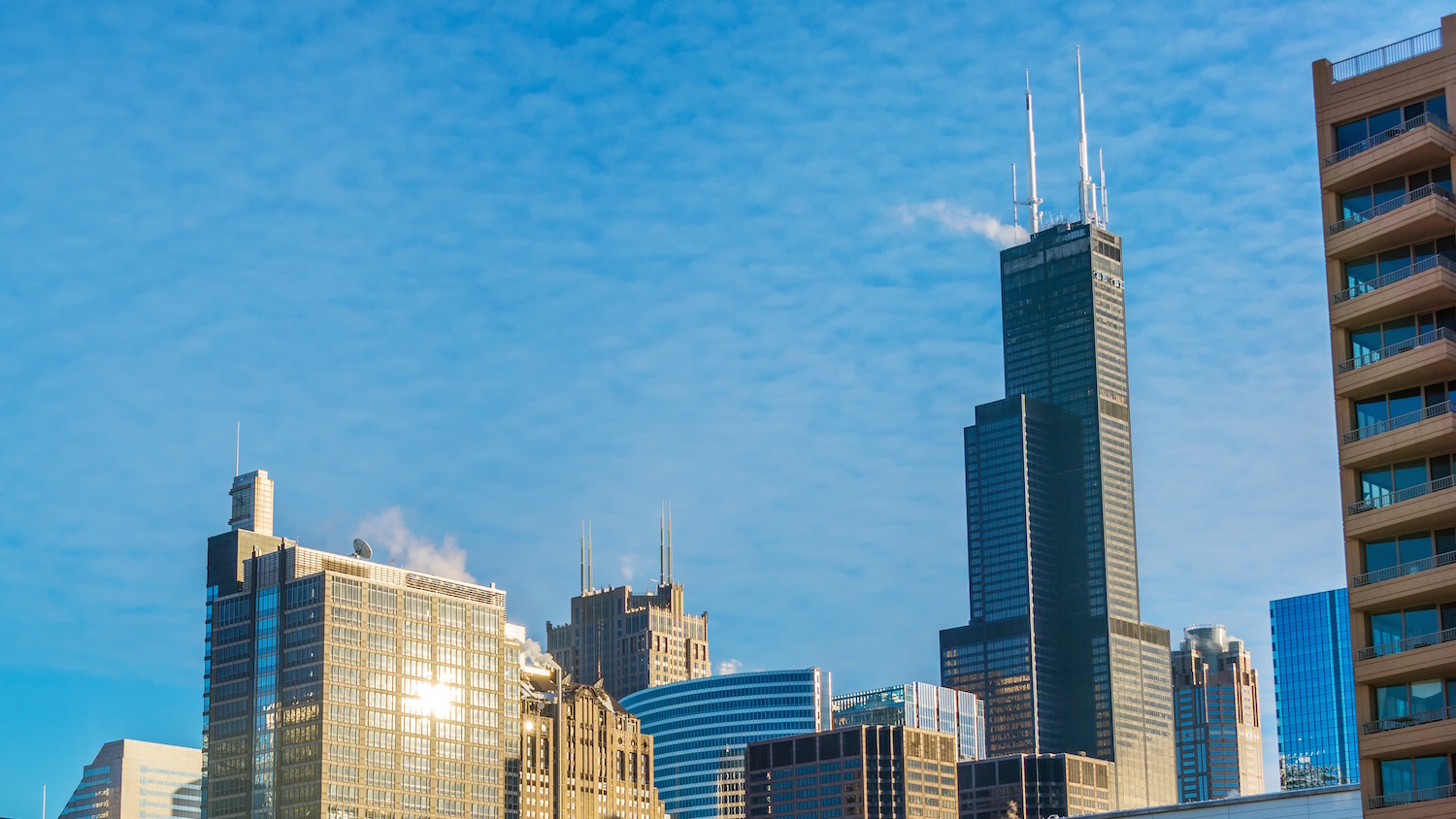 how to get to willis tower by train