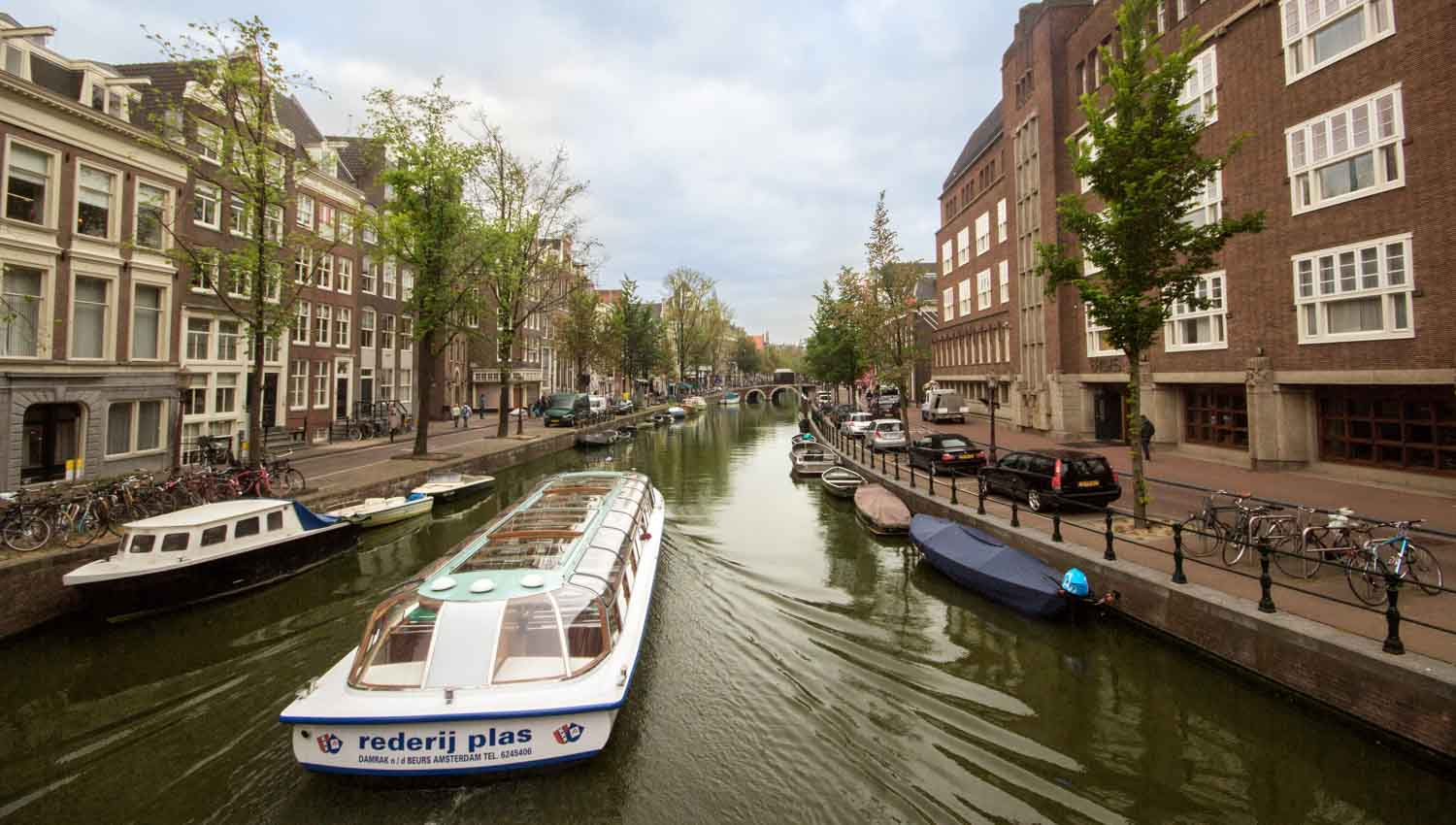 The canals ushered in the Dutch Golden Age