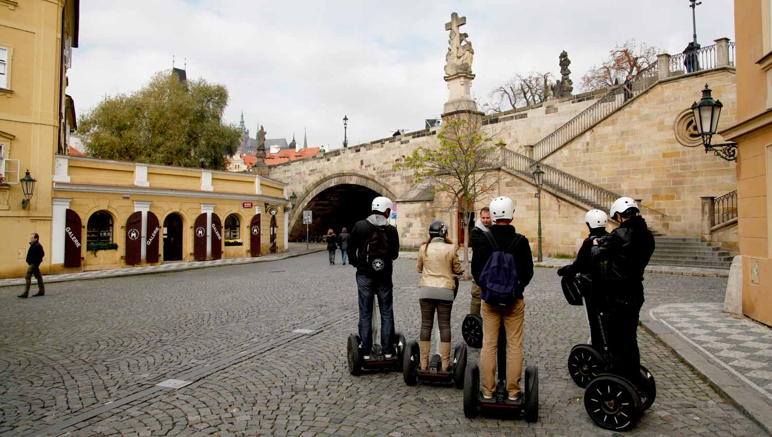 Learn the history of Prague as you see the sights