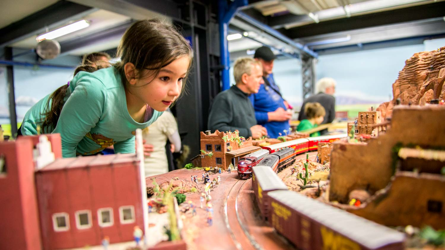 See the largest model railway in the world