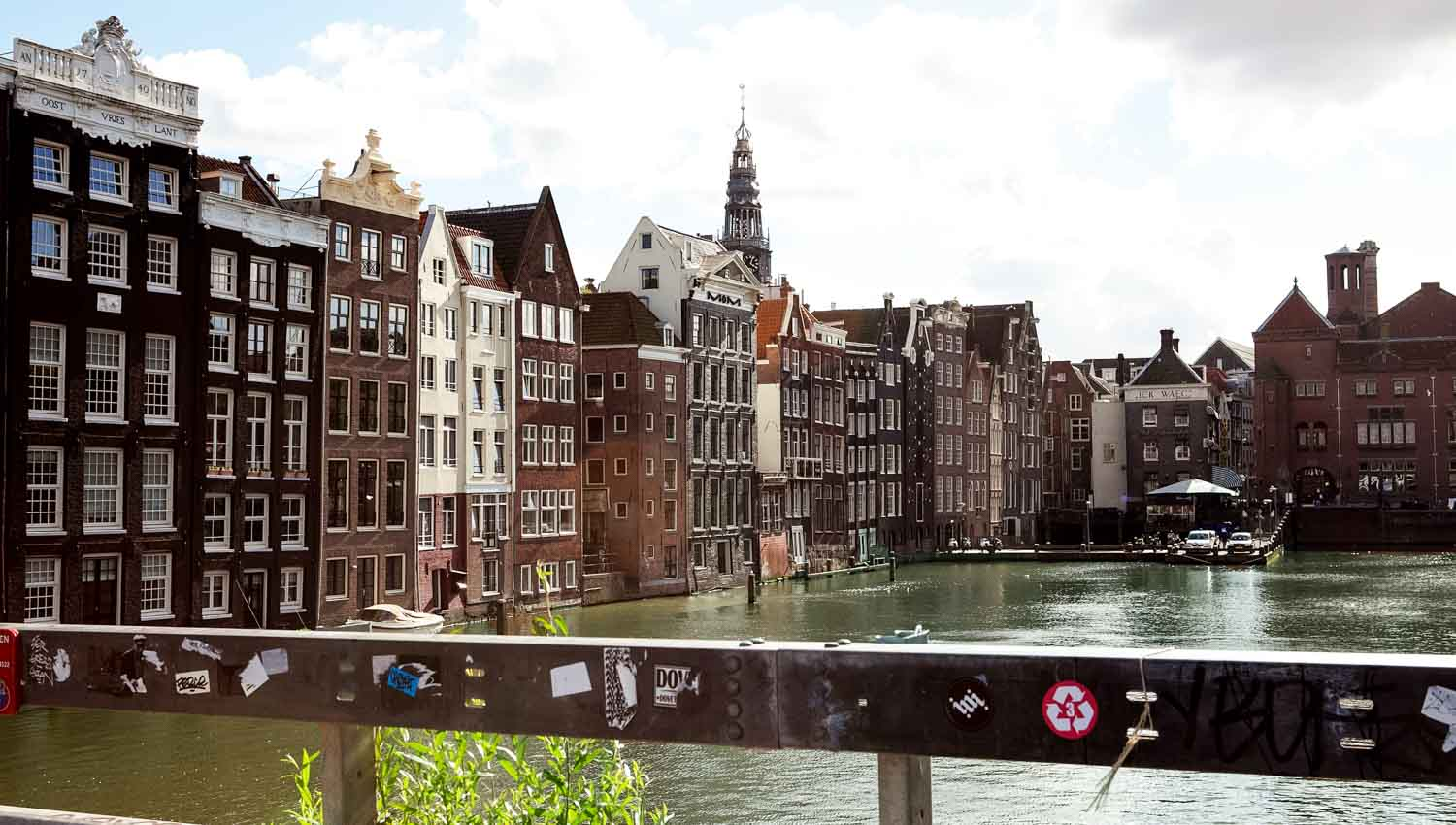 The Amstel gave Amsterdam its name