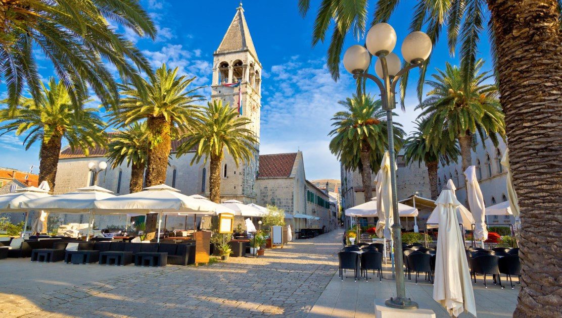 Central Square in Trogir