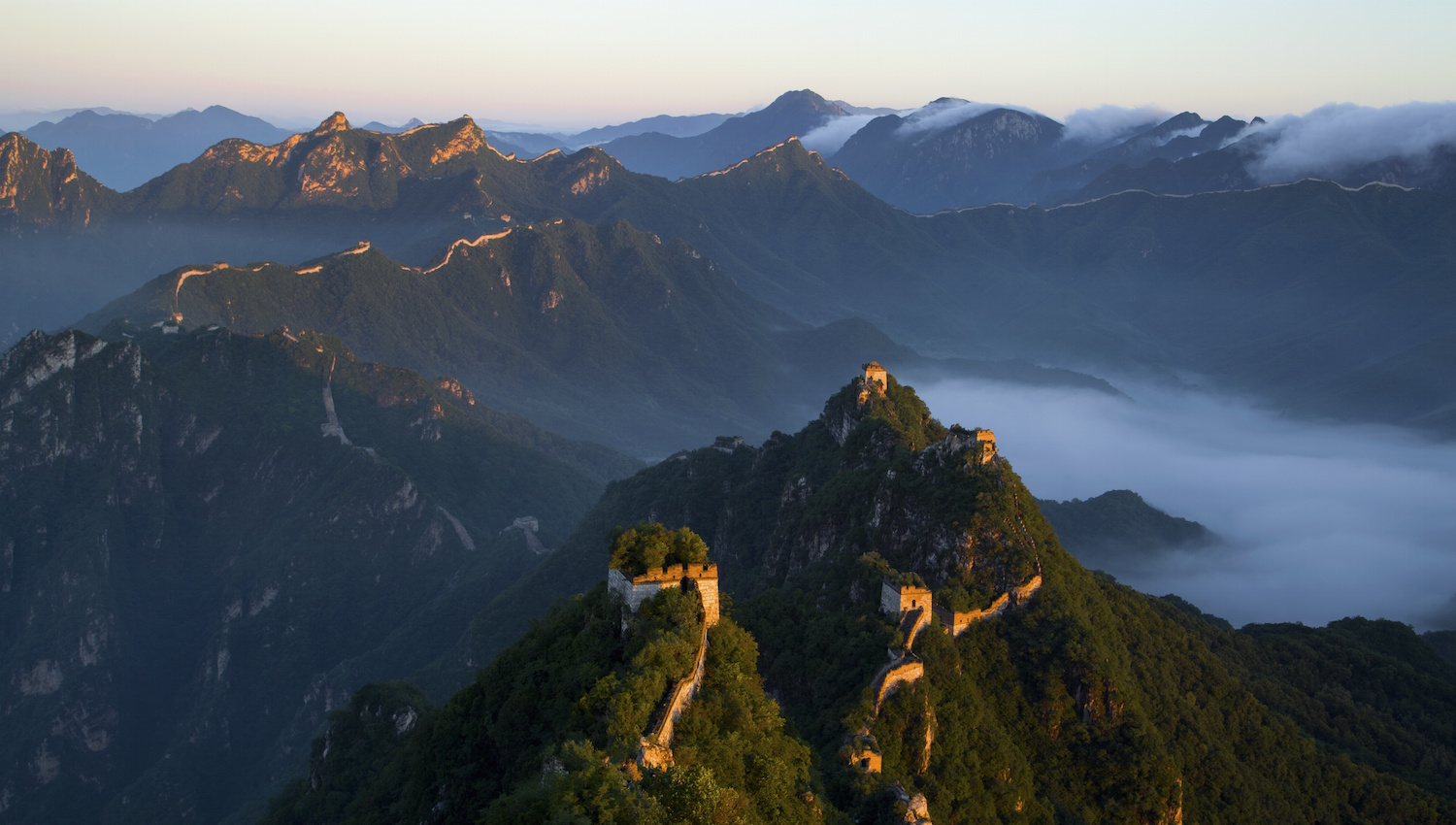 how to see the great wall of china