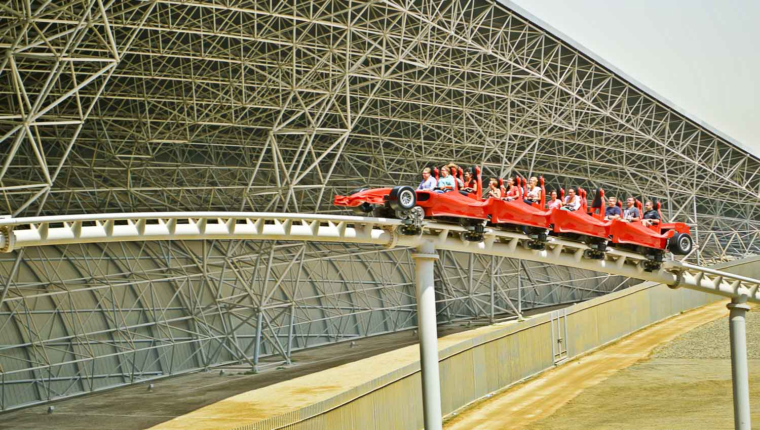 Five Frame Ferrari World Abu Dhabi Top Tours Amp Tickets 2018 With