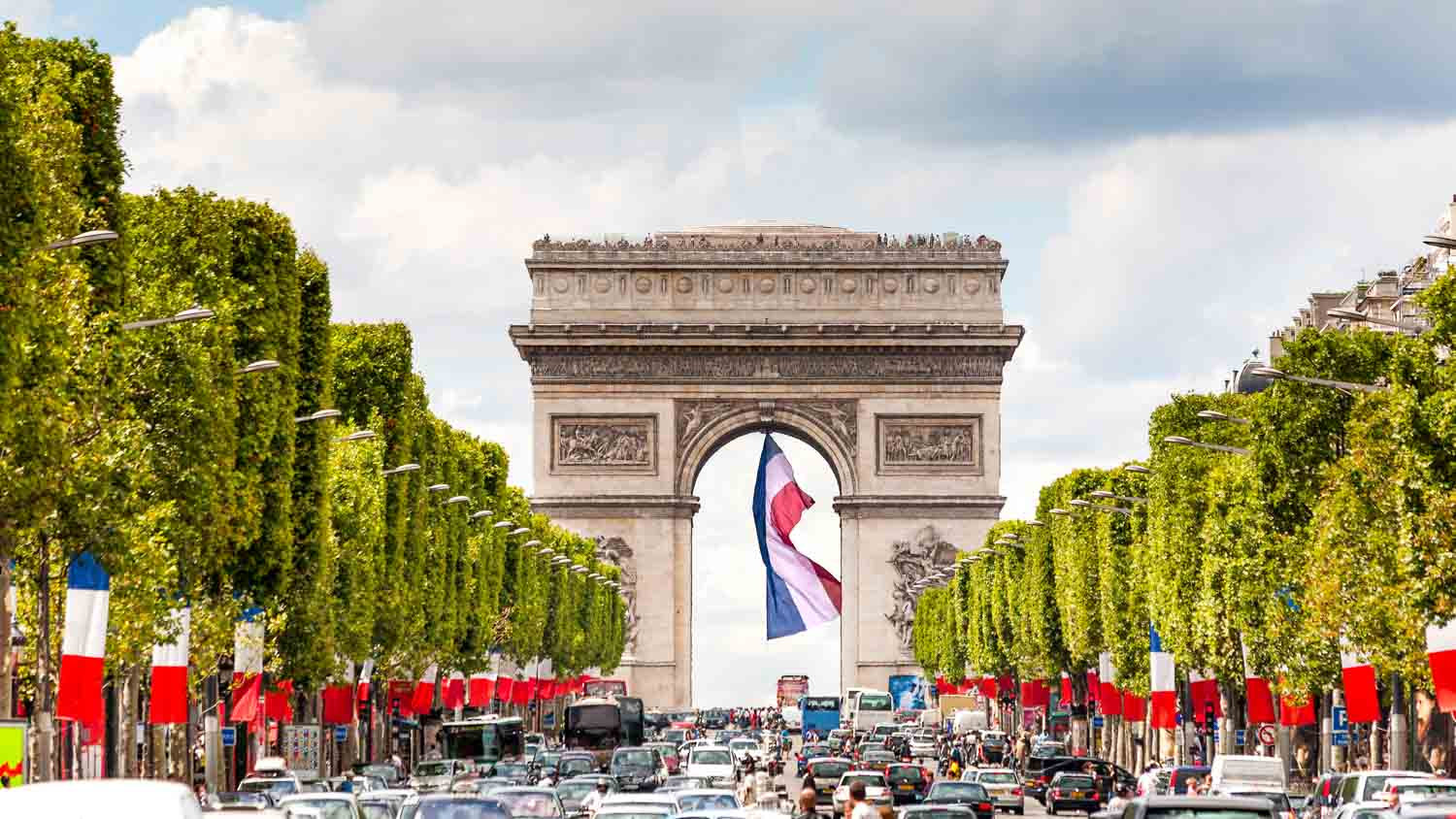 It's the start of the annual Bastille Day parade