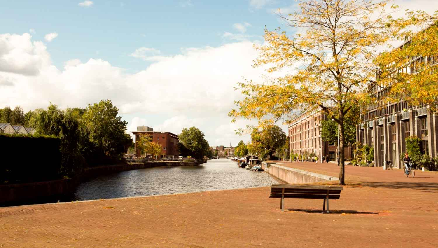 The Singel Canal was originally a moat