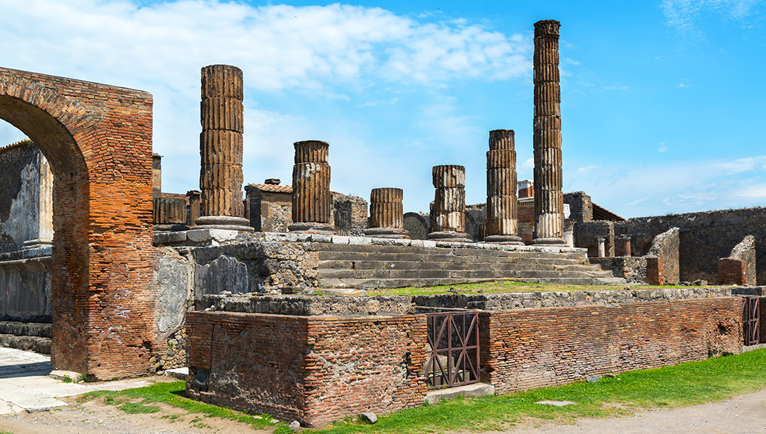 how to get from naples airport to pompeii