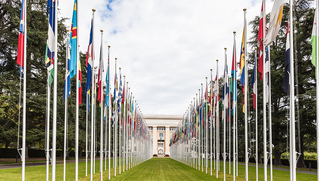 Le palais des Nations