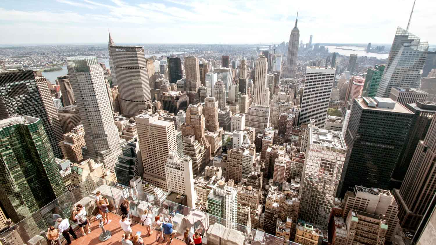 Top of the rock observation deck new york book tickets for The best of nyc