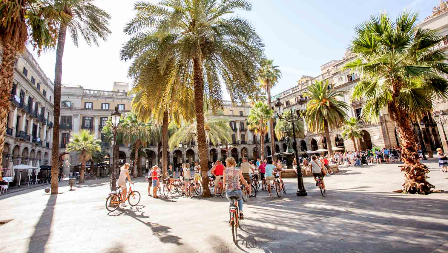 Actively explore Barcelona