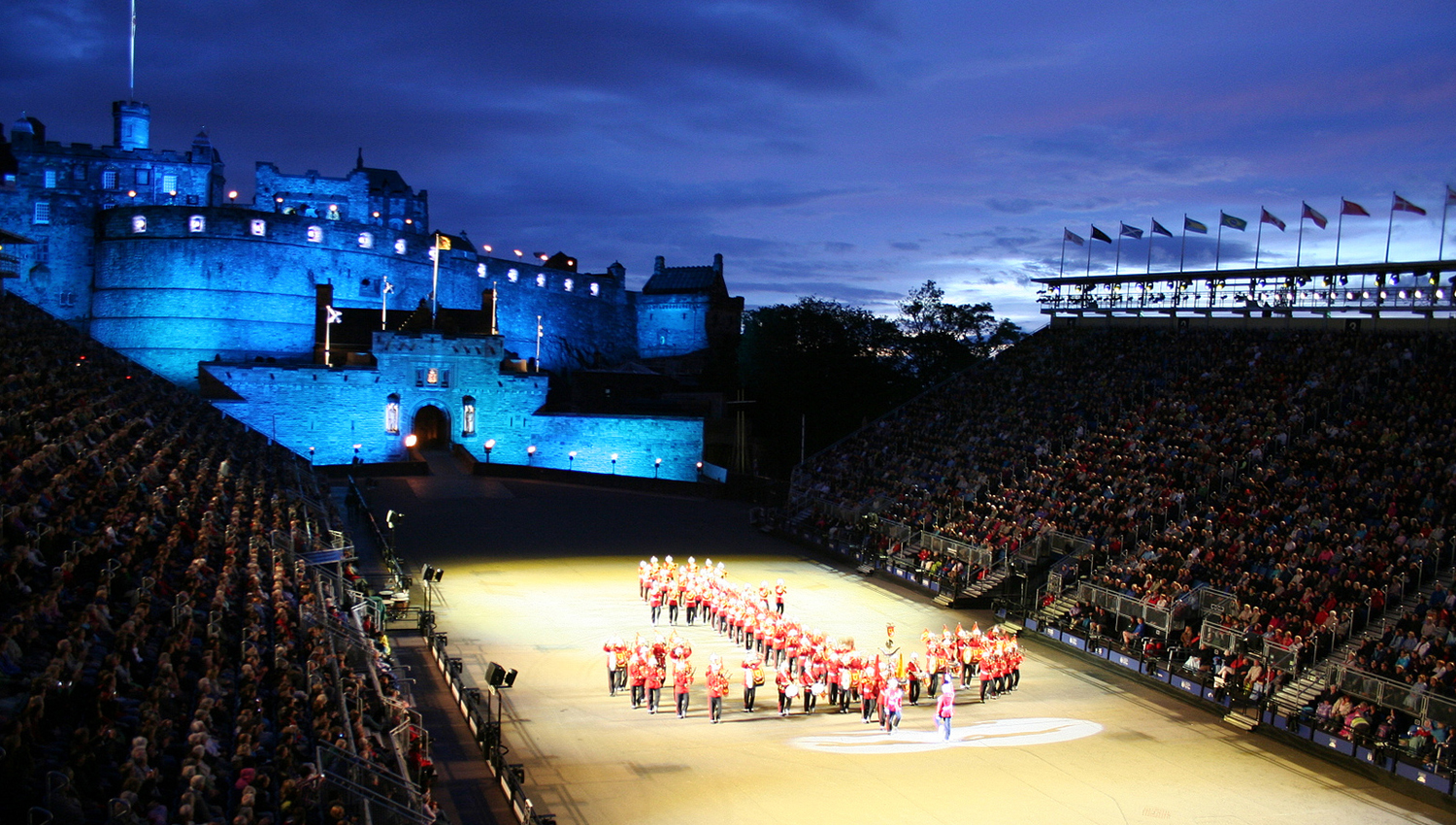The royal edinburgh military tattoo book tickets tours for Royal edinburgh military tattoo